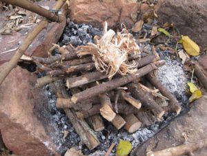روش هرمی آتش