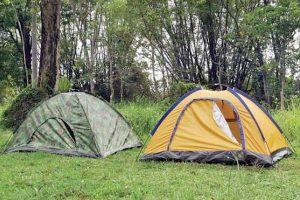 چادر و محل استقرار آن