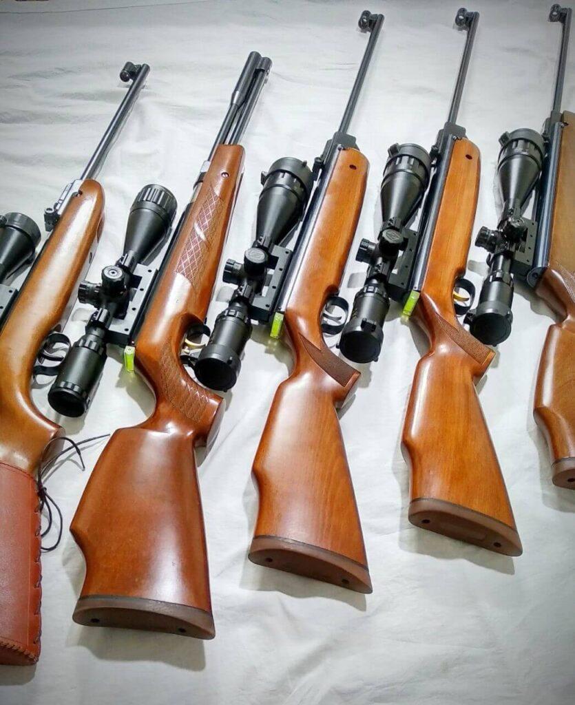 انواع تفنگ بادی کلاسیک دیانا